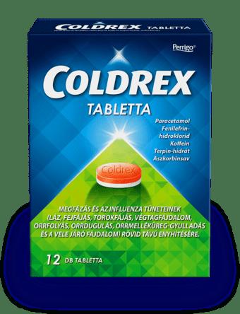 COLDREX tabletta 12db szembol